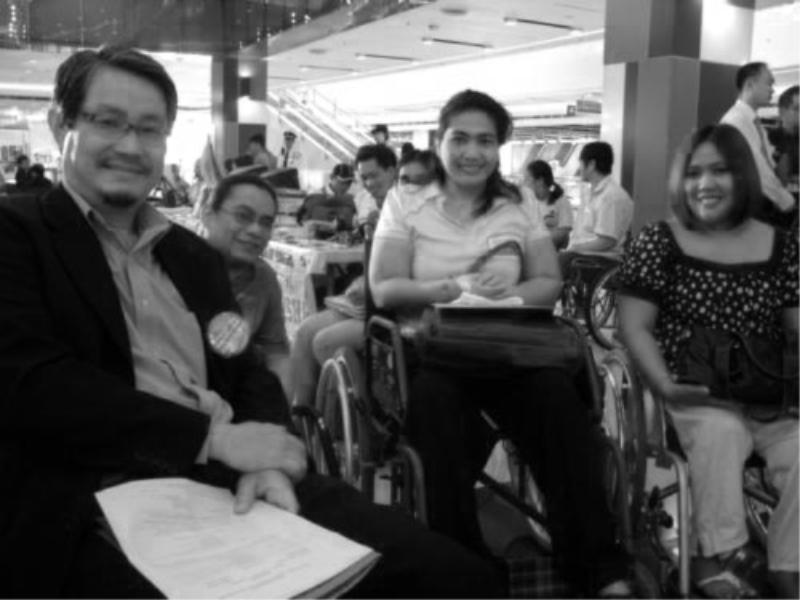 WORLD DISABILITY DAY DEC 2009 – MANILA