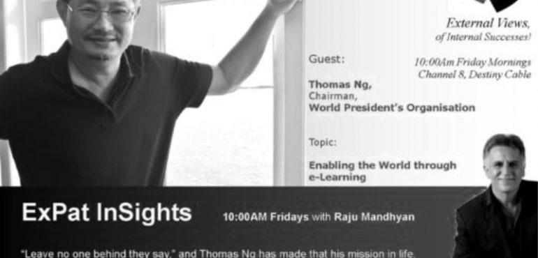 TV PROGRAM EXPAT INSIGHTS BY RAJU MANDYAN INTERVIEW JAN 2013 – MANILA