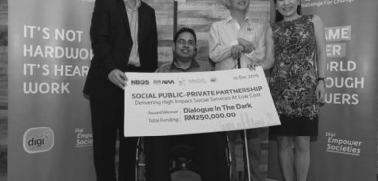 Dialogue In The Dark Wins This Year's Digi Challenge For Change