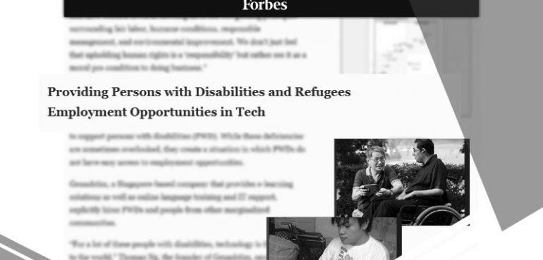 Genashtim In Forbes Magazine On Business Social Innovation